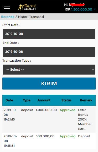 Extra Bonus Deposit 200%
